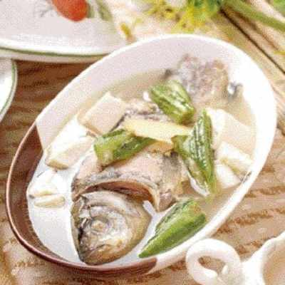 Straw Mushroom and Tofu Fish Soup Recipe