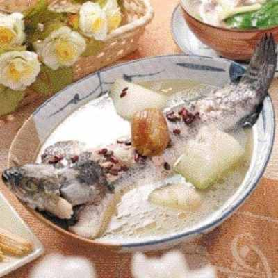 Winter Gourd Fish Soup Recipe
