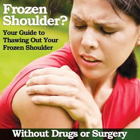 shoulder pain due to frozen shoulder