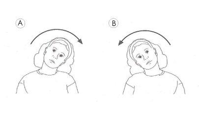 Bending neck exercises