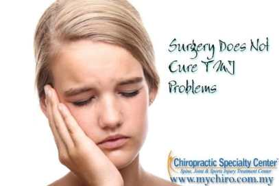 jaw pain and headache shown