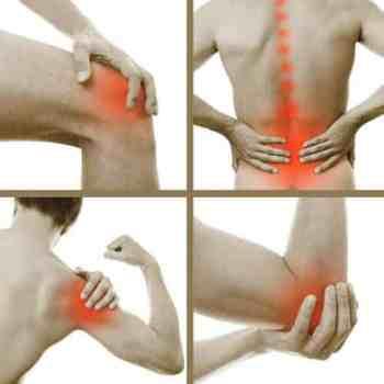 knee pain, back pain, shoulder pain & elbow pain