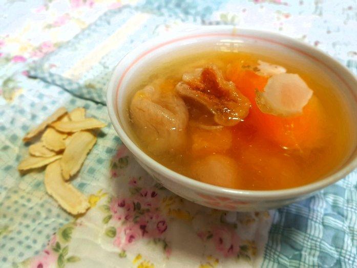 american ginseng papaya soup