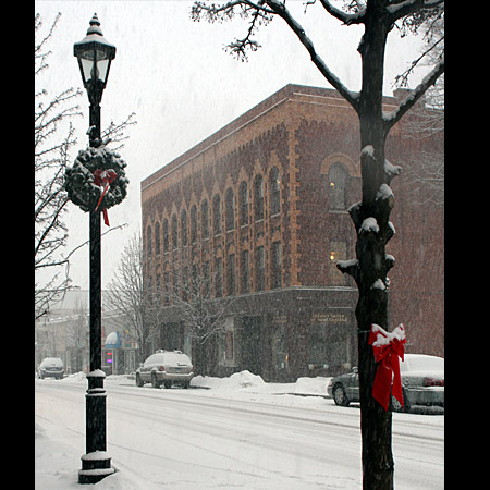 The first snow of the season came early this year. - FILE PHOTO
