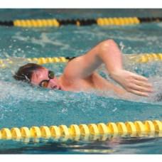 Woodland's Erik Beaudoin freestyles against Watertown Jan. 31.