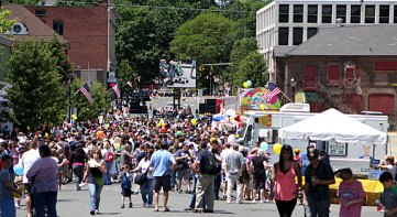 Thousands gathered in downtown Naugatuck for Naugatuck Duck Day June 5.