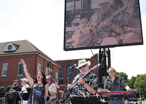 The Rubber City Blues Band performs at Naugatuck Duck Day June 5.Naugatuck Duck Day
