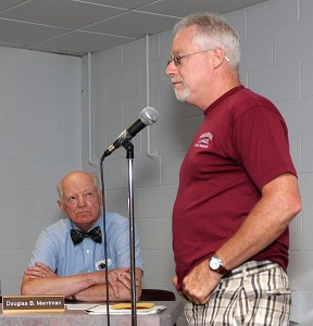 Save Prospect President Tim Reilly asks the Prospect Town Council to help pay his group's legal bills.