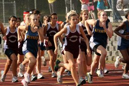 Naugatuck swept the top spots at the boys and girls cross country meet Sept. 27 at Naugatuck High School against Woodland and Kennedy. Woodland boys and girls defeated Kennedy.
