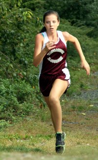 The Greyhounds faced off against the Hounds and the Eagles in cross country Tuesday at Naugatuck High School. Naugatuck took first place for boys and girls.