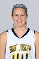 Woodland's all-time leading scorer Heather Framski has started every game for St. Joseph College in her freshman year. - ST. JOSEPH COLLEGE ATHLETICS
