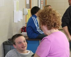 The 17th annual third-grade science fair was held at Algonquin School in Prospect April 12. Over 110 students participated in the fair. –ELIO GUGLIOTTI
