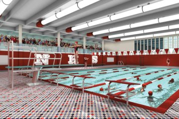 A new pool is just one part of the renovations planned at Naugatuck High School. –CONTRIBUTED