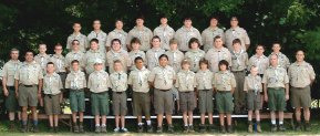 Naugatuck Boy Scout Troop 138 spent the week of July 15 at Camp Yawgoog in Rhode Island. The boys earned merit badges for various activities like astronomy, swimming, mammal study, nature study, and archery during the week. –CONTRIBUTED