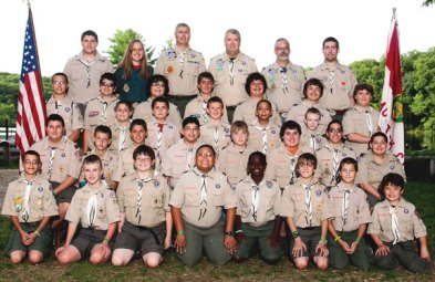 Naugatuck Boy Scout Troop 138 recently attended and worked on merit badges at Camp Mattatuck in Plymouth. -CONTRIBUTED