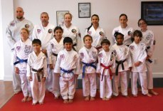 Sokol's Taekwondo LLC held a testing on Oct. 6. Elijah Johnson, Andrew Khairallah and Maria Oliveira reached the rank of Black Belt recommended and Cole Trisko and Michael Cordova received the rank of 1st degree Black Belt. -CONTRIBUTED