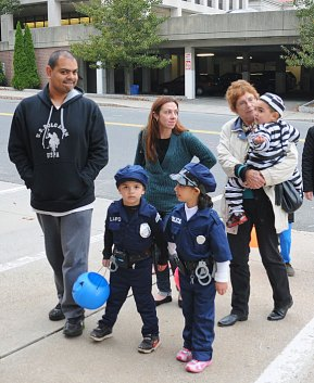 The Naugatuck Fire Department hosted its annual Halloween parade and party Oct. 31. –LUKE MARSHALL