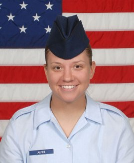 Air Force Airman Stacey Alfes recently graduated from basic military training at Lackland Air Force Base, San Antonio, Texas. Alfes, a 2007 graduate of Woodland Regional High School, is the daughter of Joyce Alfes of Prospect. -CONTRIBUTED