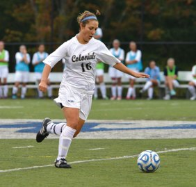 Woodland grad Cecelia Dias earned All-Little East Conference First Team honors for Western Connecticut State University this past season. –WCSU