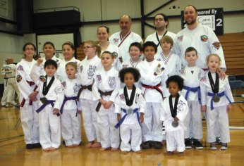 Sokol's Taekwondo in Naugatuck recently participated in the New Hampshire regional tournament. The students did very well and they all had a great time. -CONTRIBUTED