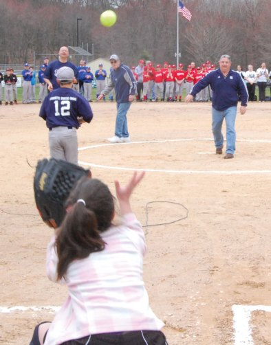 The Beacon Falls Little League held its opening day ceremony April 13 at the Pent Road Recreation Complex. –KEN MORSE