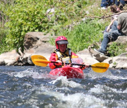 The Naugatuck River Festival was held May 4 in Beacon Falls featuring the annual Naugatuck Valley River Race and the Beacon Falls Duck Race. –Elio Gugliotti