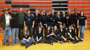 The Naugatuck High School percussion ensemble won first place in the ensemble category at the Musical Arts Conference Winter Percussion Finals April 13. –CONTRIBUTED