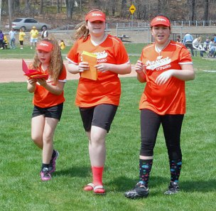 The Prospect Softball Association held its opening day ceremony April 27 at Canfield Park. –KEN MORSE
