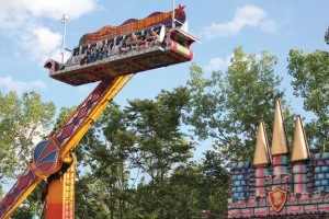 The Ali Baba ride is in full swing during last year's Beacon Hose Company No. 1's Annual Firemen's Carnival in Beacon Falls. –FILE PHOTO