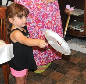 The Naugatuck Historical Society hosted Crafts that Pop: Pop-ups, Pinwheels and Paddles, a Colette's Summer Craft Program, July 19 at the society museum on Water Street. –LUKE MARSHALL