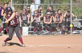 Sarah Chandler was an emotional leader for Naugatuck's volleyball team (playing all six positions) and the softball team as the starting shortstop. –RA ARCHIVE
