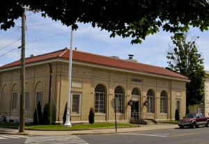 Naugatuck Superintendent of Schools John Tindall-Gibson and Chester Cornacchia, the economic development commission president who took over ownership of the historic former post office in downtown Naugatuck, are proposing a new educational innovations center that could be housed in the facility. -RA ARCHIVE