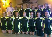 The Prospect U12 girls travel team participated in the South Central District and went undefeated in league play this past spring season. Pictured front row from left, Bridgette Riffe, Cristiana Santos, Haley Wolfanger, Alanna Carasone, Julia Accetura, Rebekah Wallace and Nicole Sherman. Back row from left, coach Ryan Smith, Juliana Villano, Kerrigan Shaw, XiuXiu Sammis-McCoy, Michealla Mastropietro, Mia Piccolo and Eliza Smith. Missing from photo, Grace Parker and coach Sarah Wallace. –CONTRIBUTED