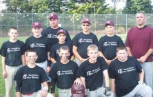 The Naugatuck travel Koufax team won the USSA 14U baseball tournament the weekend of Sept. 13. The team went 5-0 in the tournament and won the championship game 9-1 against the Connecticut Capitals. The team is coached by Bob Warren and Tony Grillo. -CONTRIBUTED