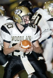 Cody Kingsley was the most accurate passer in the history of the Woodland football program history before his younger brother Tanner stepped onto the field. –RA ARCHIVE