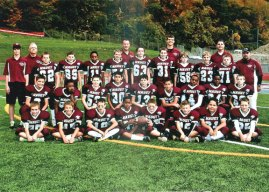 The Naugatuck Hounds Pee Wee football team recently won the Southern Connecticut Pop Warner bob Ross Championship. Naugatuck defeated the Milford Eagles, 20-6, in the semifinals and the Trumbull Rangers, 18-13, to win the title. -CONTRIBUTED
