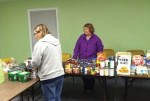 The Fox Hill Condo Association recently held its first food drive to benefit the Naugatuck Ecumenical Food Bank. This effort was organized by Harlene Sprei, chairperson of the Fox Hill Food Drive Committee, and Erica Pucci, a board member of the association. Through the generosity of Fox Hill neighbors and employees of the Naugatuck Board of Education, four turkeys and 350 additional food items were collected to aid the food bank's Thanksgiving effort. The association is planning to run another food drive in December. -CONTRIBUTED