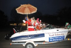 Prospect hosted its annual Holiday Light Parade on Dec. 8. –LUKE MARSHALL