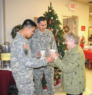 The Naugatuck Senior Center hosted its annual Christmas Luncheon on Dec. 5. –LUKE MARSHALL
