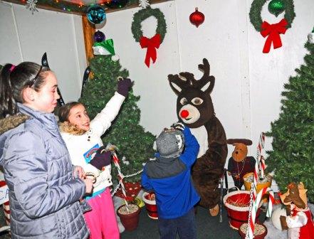Naugatuck Park and Recreation hosted its annual Santa's Village Dec. 13-23. –LUKE MARSHALL