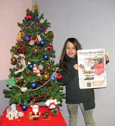 Adriana Lisko, of Naugatuck, Citizen's News annual Christmas coloring contest in the 9- to 12-year-old age group. –LUKE MARSHALL