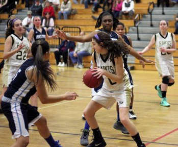 Woodland topped Ansonia Feb. 7, 49-29. –ELIO GUGLIOTTI