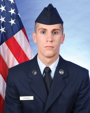Air Force Reserve Airman Austin Ferrari recently graduated from basic military training at Joint Base San Antonio-Lackland, San Antonio, Texas. Ferrari, a 2013 graduate of Naugatuck High school, completed an eight-week program that included training in military discipline and studies, Air Force core values, physical fitness, and basic warfare principles and skills. Airmen who complete basic training earn four credits toward an associate in applied science degree through the Community College of the Air Force. Ferrari is the son of Karen Wilson of Naugatuck. -CONTRIBUTED