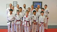 Sokol's Taekwondo in Naugatuck held a testing on Feb. 22. Craig Payton and Dhruv Nimmagadda earned the rank of first degree black belt. Dylan Trisko and Michael Jedrzejewski earned the rank of second degree black belt. -CONTRIBUTED
