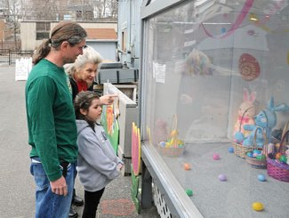 The Naugatuck Parks and Recreation Department hosted its annual Easter Village in April.–LUKE MARSHALL