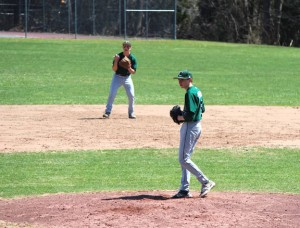 Corey Plasky of Naugatuck emerged as a diamond in the rough for Chase Collegiate School in Waterbury. Plasky finished his freshman season 6-0 on the mound. –CONTRIBUTED