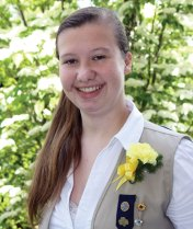 Whitney Stow of Beacon Falls recently earned her Girl Scout Gold Award. In order to earn the Gold Award, which is the highest award in Girls Scouts, scouts spend at least 80 hours researching issues, assessing community needs and resources, building a team and making a sustainable impact in the community. Stow raised awareness of the dangers of texting and driving to the junior and senior classes at Woodland Regional High School. She organized a presentation in partnership with Survive the Drive and created her own video. -CONTRIBUTED