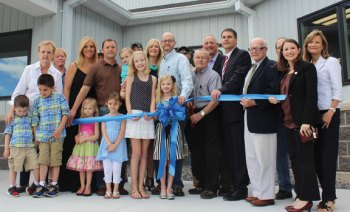 H.J Bushka & Sons Lumber and Millwork held a grand opening ceremony June 6 for its new location at 25 Great Hill Road in Naugatuck. -CONTRIBUTED