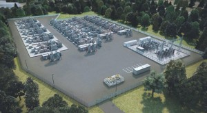 A rendering of the proposed Beacon Falls Energy Park. –CONTRIBUTED