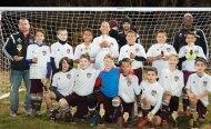 The Naugy Lasers, a Naugatuck Youth Soccer U11 team, won the U11 boys division at the Naugatuck Invitation Soccer Tournament Nov. 7-8. -CONTRIBUTED